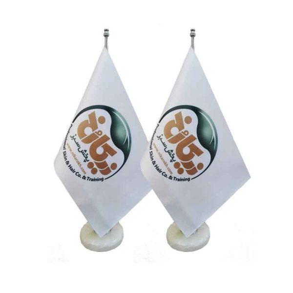 پرچم رومیزی لیزری
